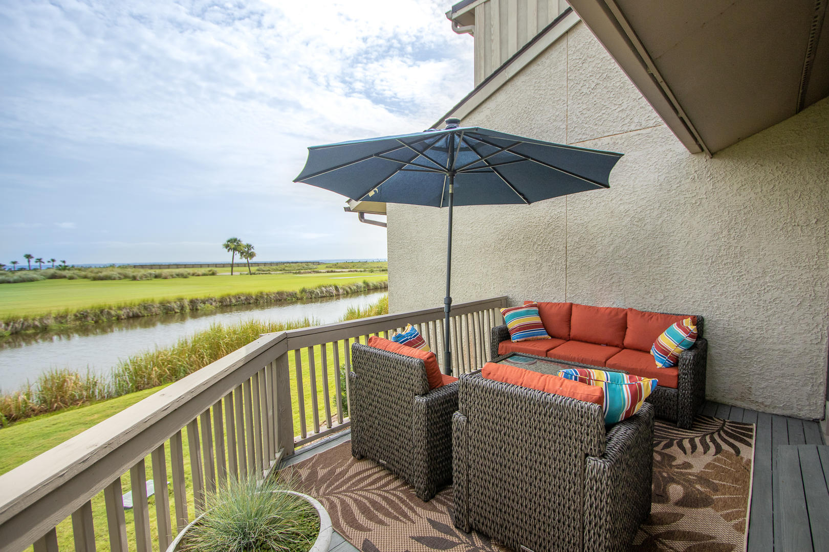 Back deck, ocean point golf and ocean views