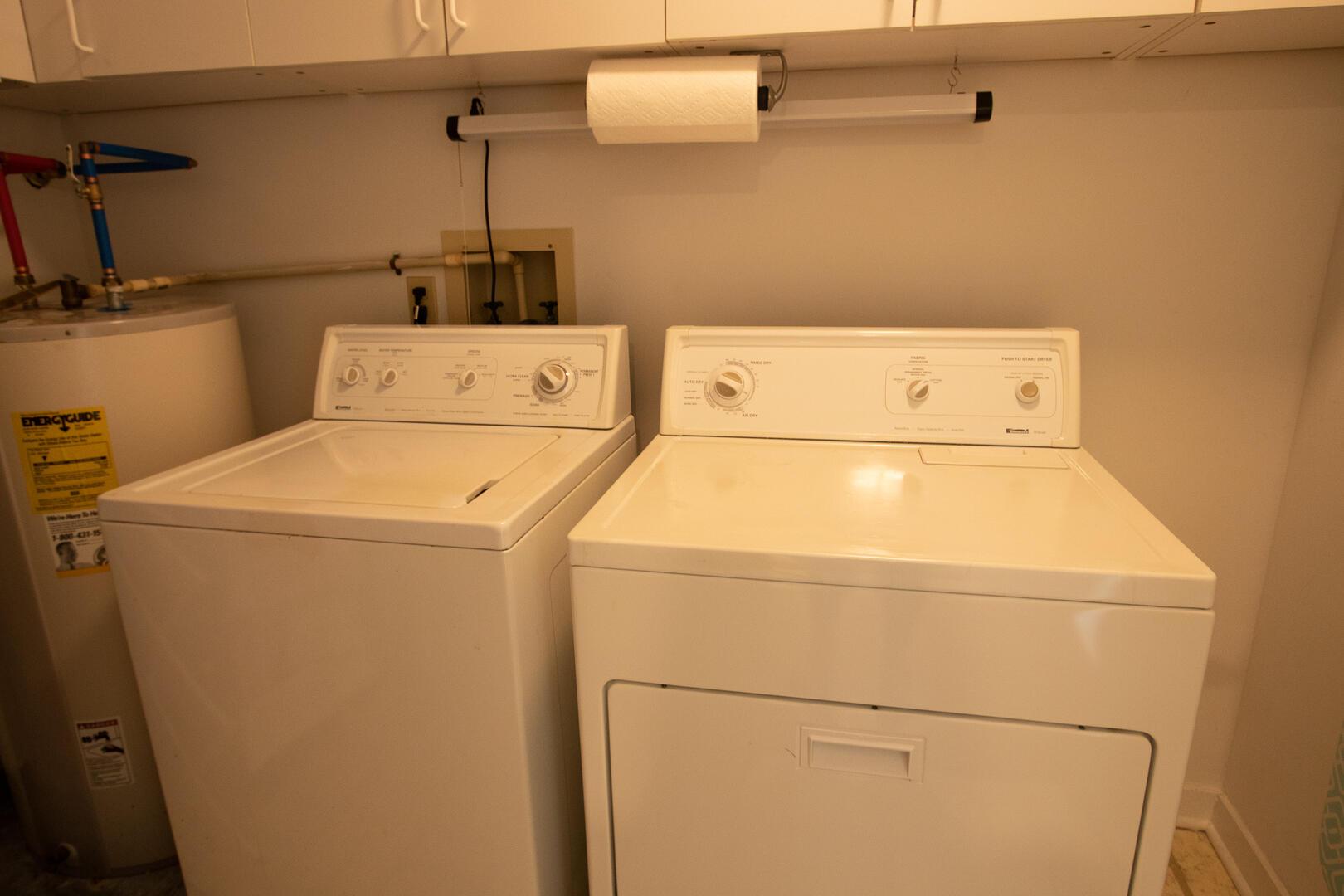 Laundry, 2nd floor, between bedrooms 1 and 2