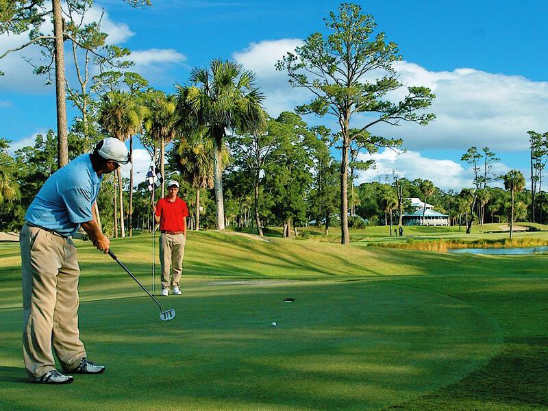 Golf - 2 Amazing Courses