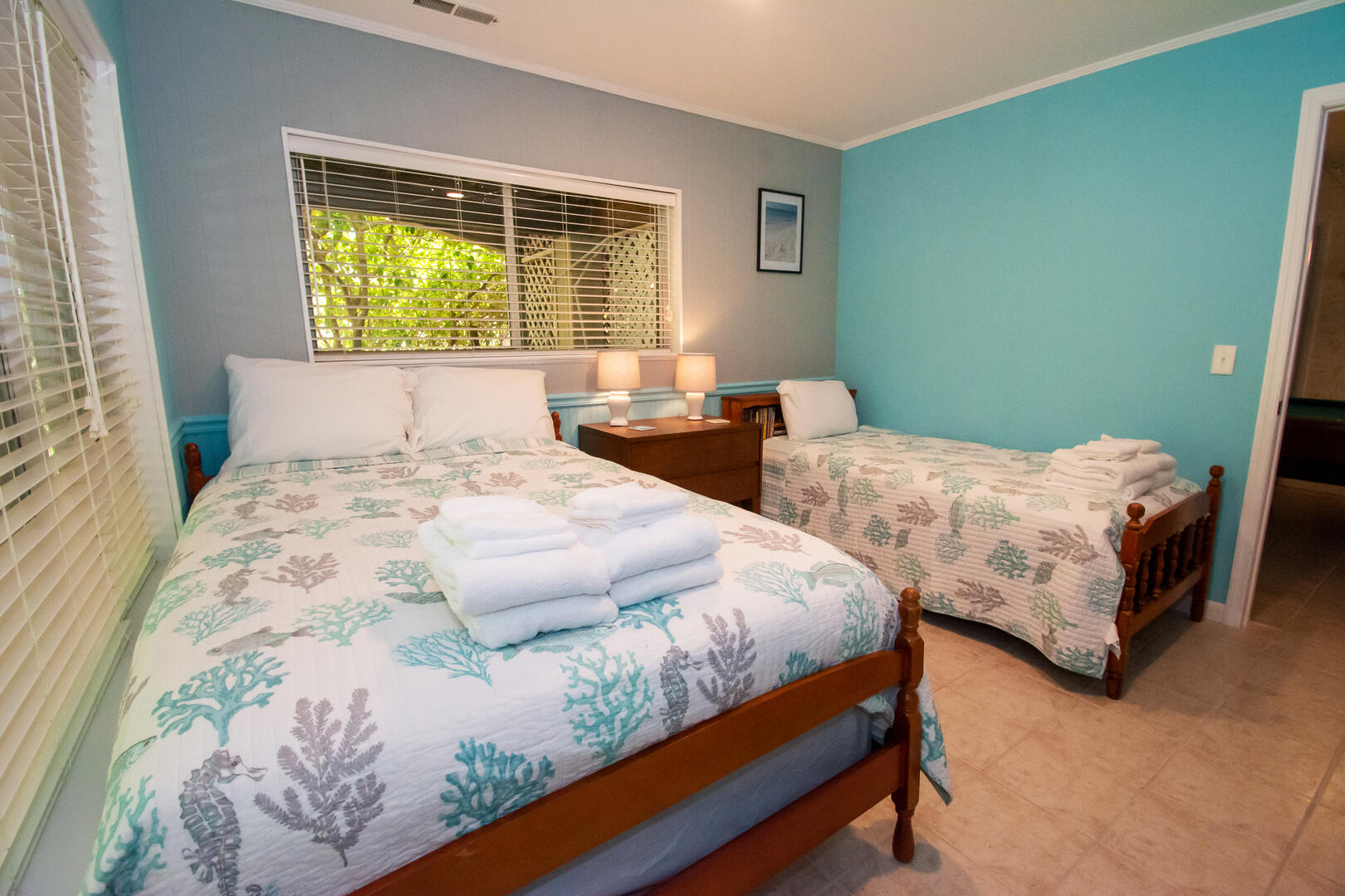 Downstairs Full & Twin Bedroom
