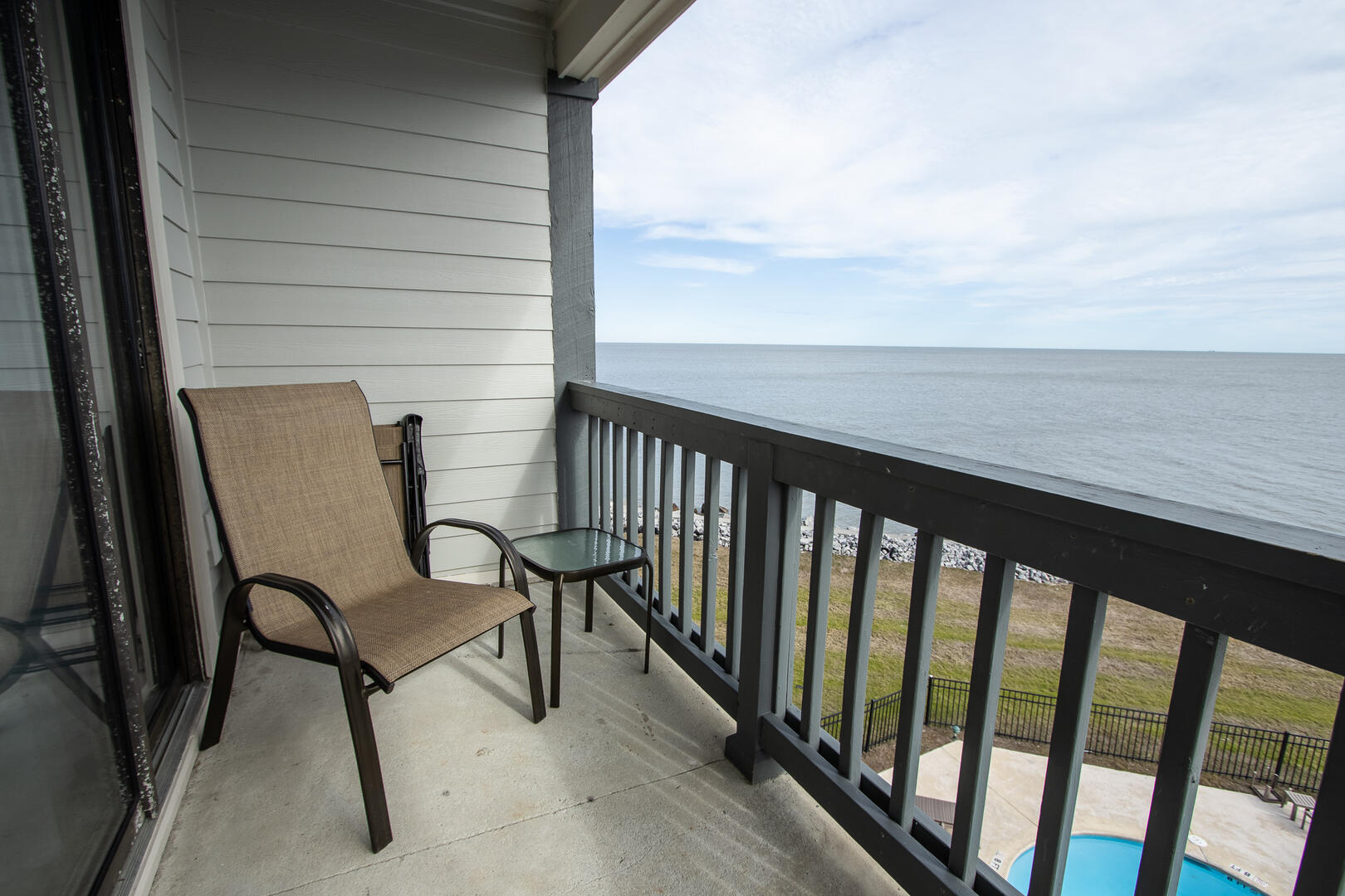 Balcony, accessible from living