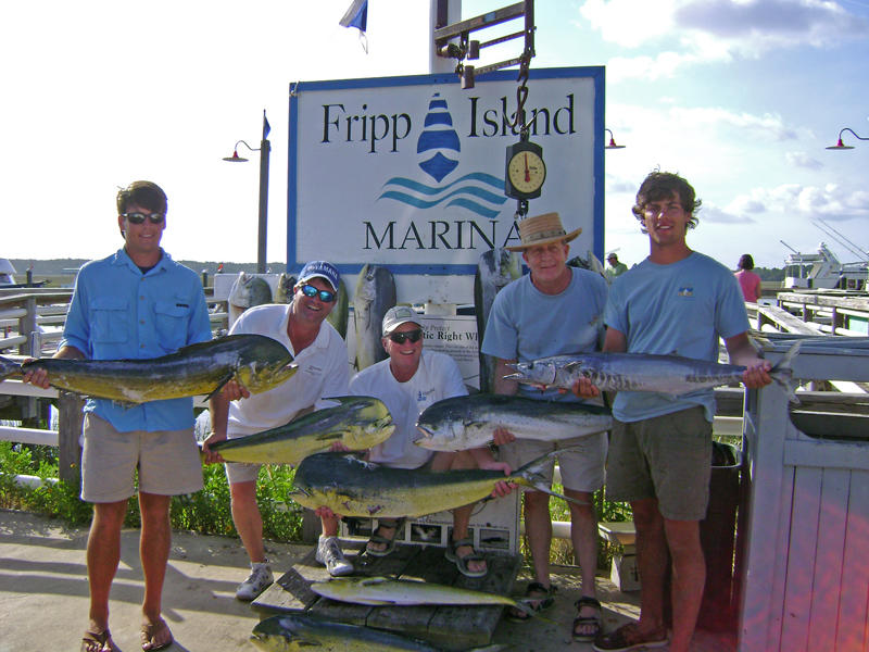 The waters around Fripp Island are a saltwater paradise.