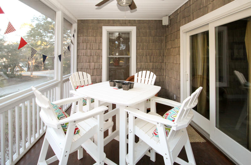 Pub Table on Porch off Living Room