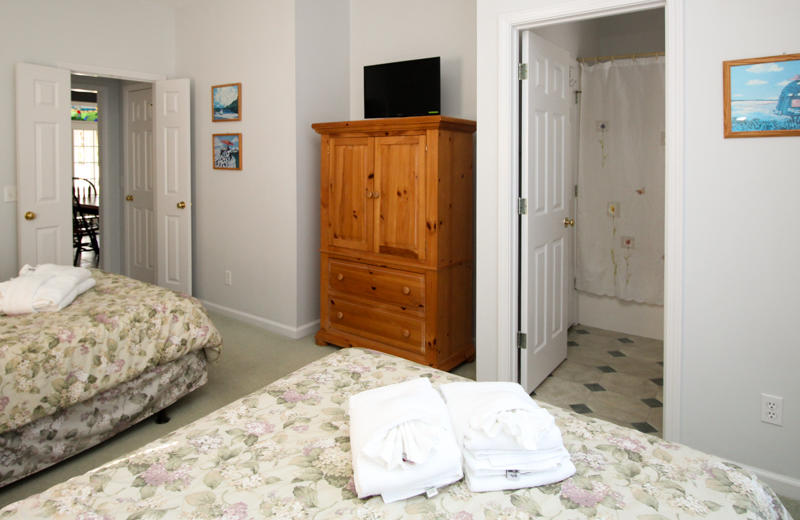 Downstairs Bedroom Flat-screen TV