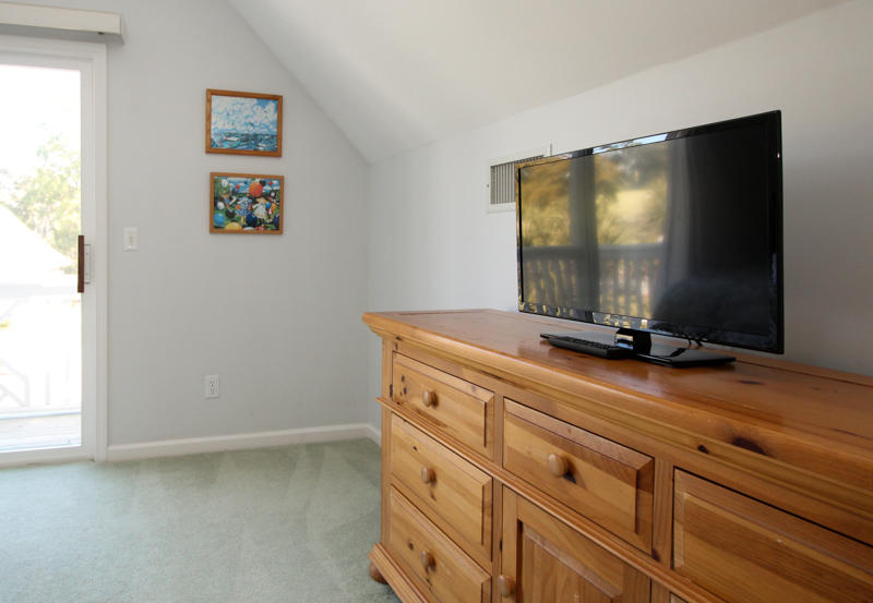 Upstairs Bedroom Television and Dresser