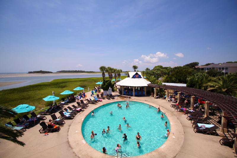 Cabana Club Pool located on Sea Mist