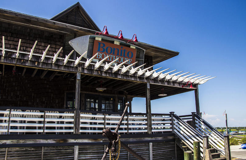 Bonito Boathouse Restaurant located at the Marina
