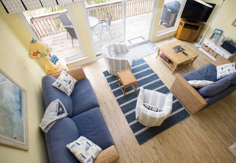 Living Room from Stairs