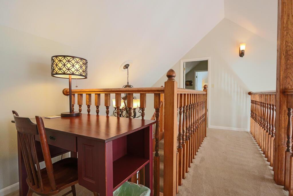 Upstairs walkway between bedrooms