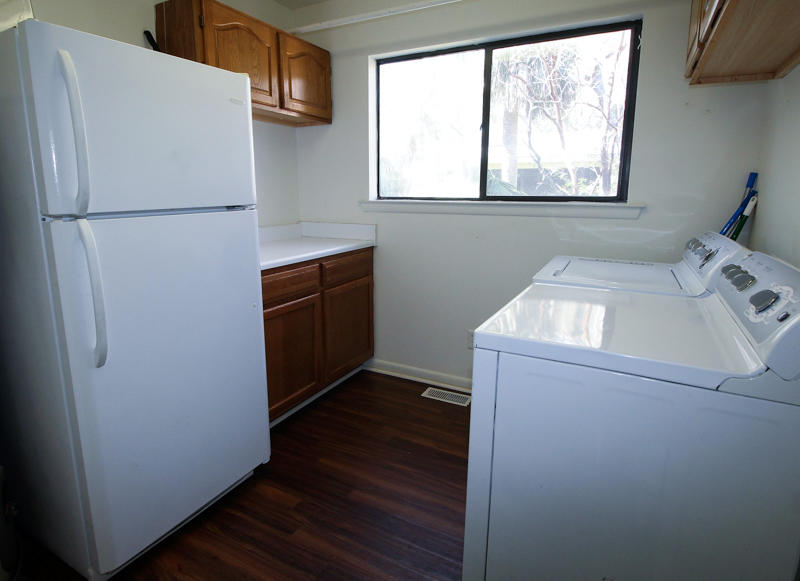 Laundry Room with Extra Refrigerator