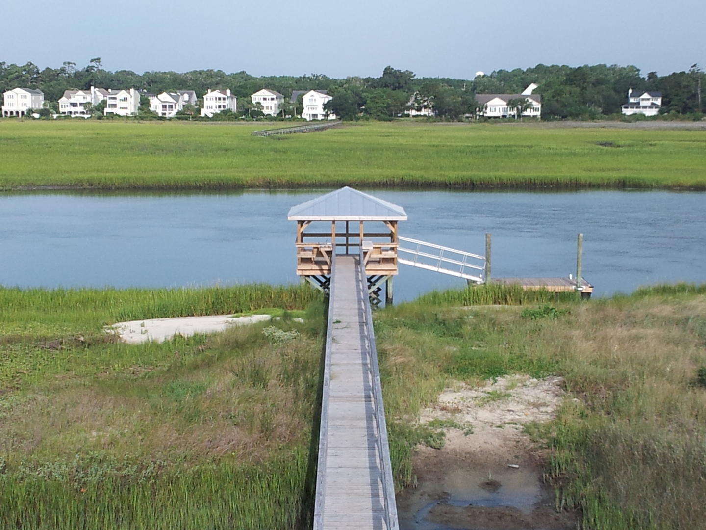 Covered and Floating Dock