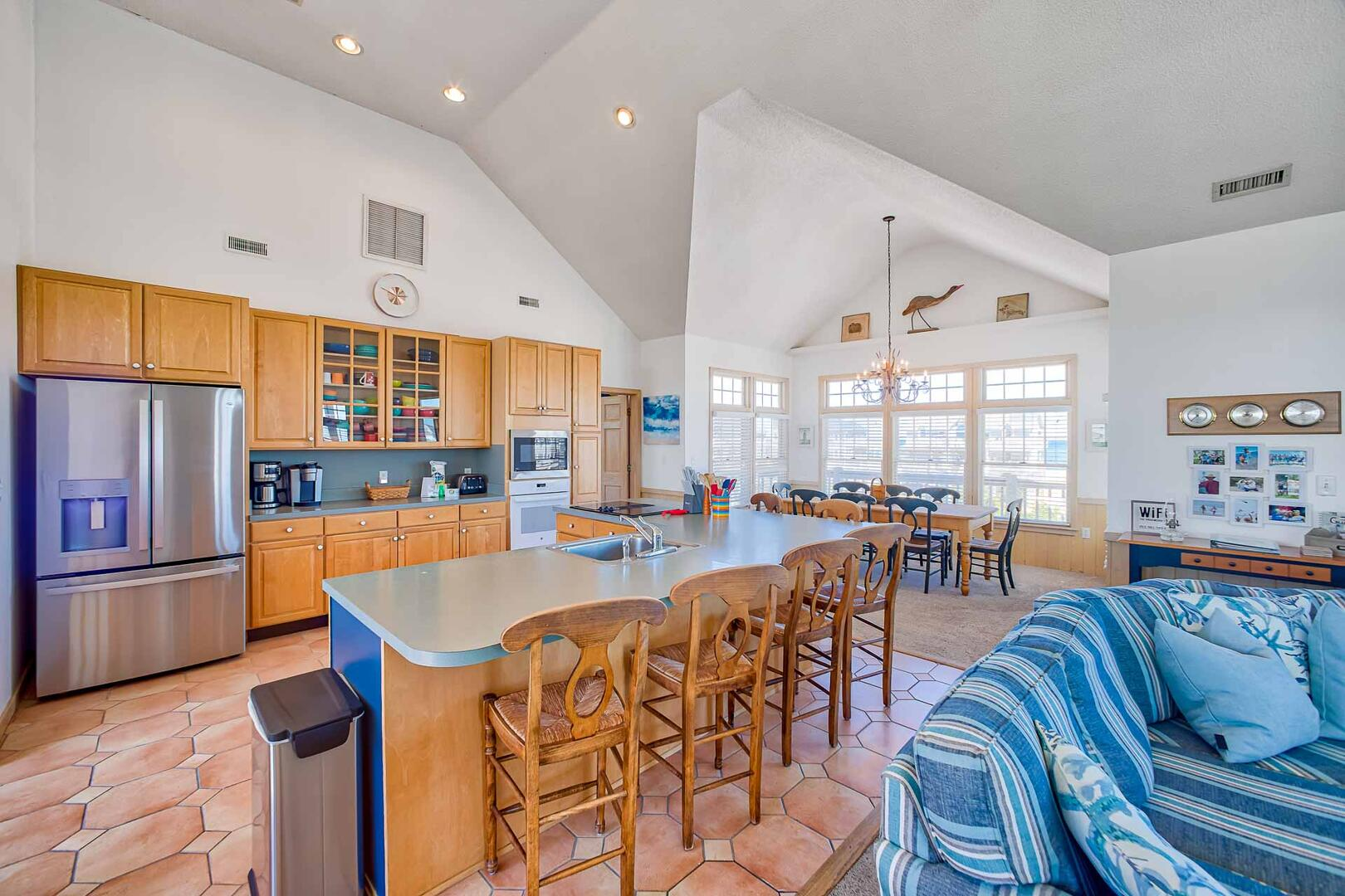Drumstick | Hatteras Island Vacation home with EV Charging Port