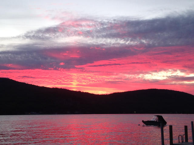 Sunset Picture from Renter