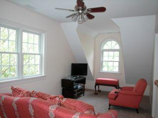 sitting room  on the second floor