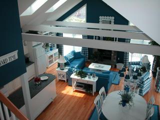 View from the second floor loft/den