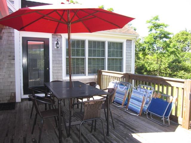After a day at South Beach enjoy relaxing on your private deck