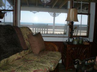 Living room with views of Nantucket Sound