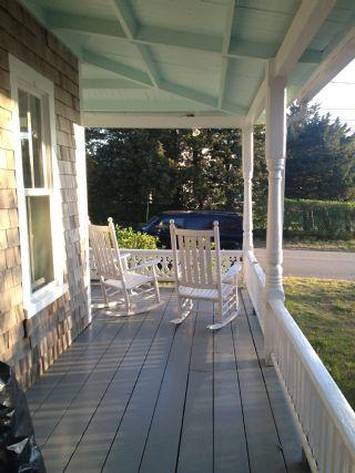Think porch, rocking chair and your favorite libation and what you get is Vineyard Heaven