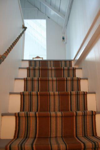 up the stairs to our three lovely bedrooms