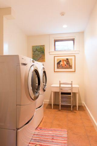 Laundry room on the lower level