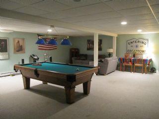 Finished fun basement