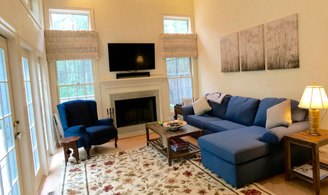 Newly furnished living-room