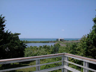 View From Roof Deck of Vineyard Sound