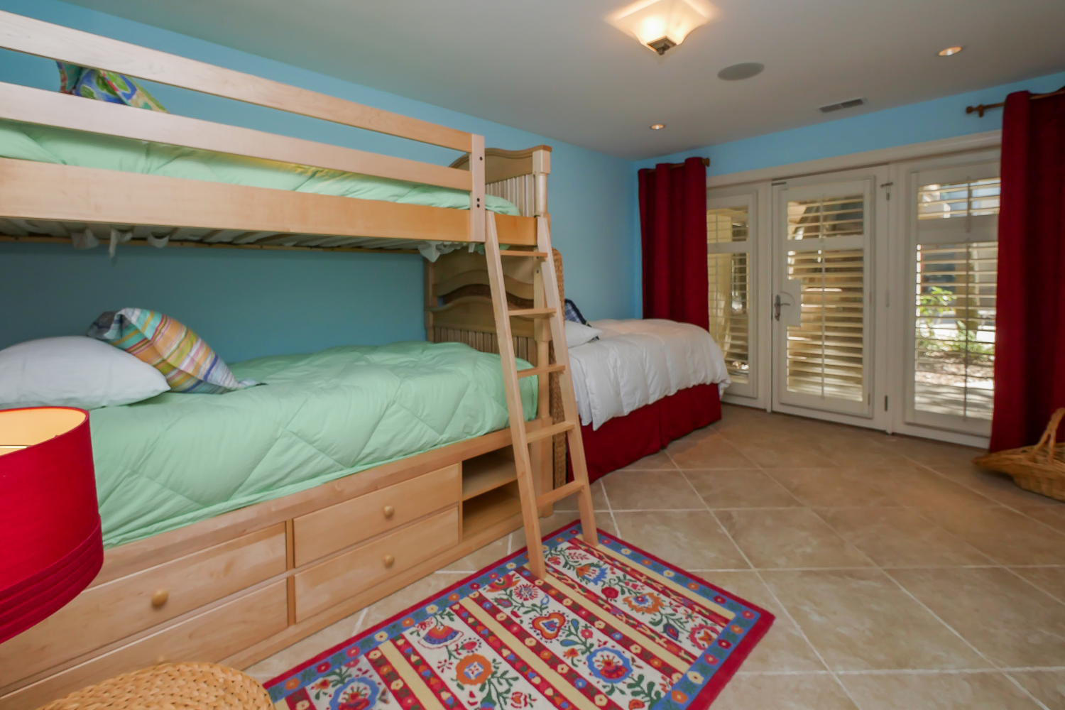 Bunk beds and twin BR - 1st level | Royal Estate plus Cottage