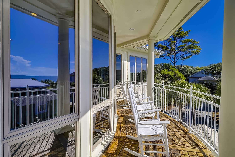 Balcony off Upper Landing | Sea Dream