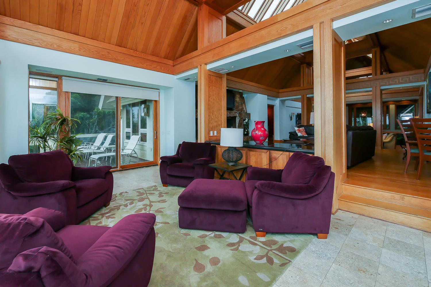 Sitting area by living room two - main level