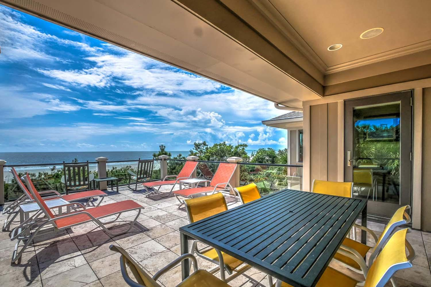 Sitting Deck- 2nd Floor