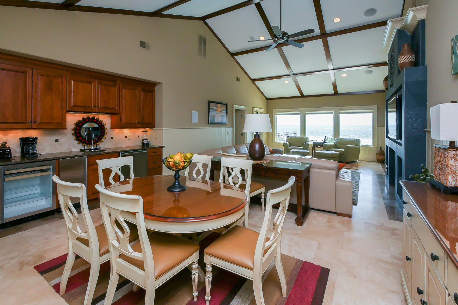 Game Table in Living Room- 2nd Level