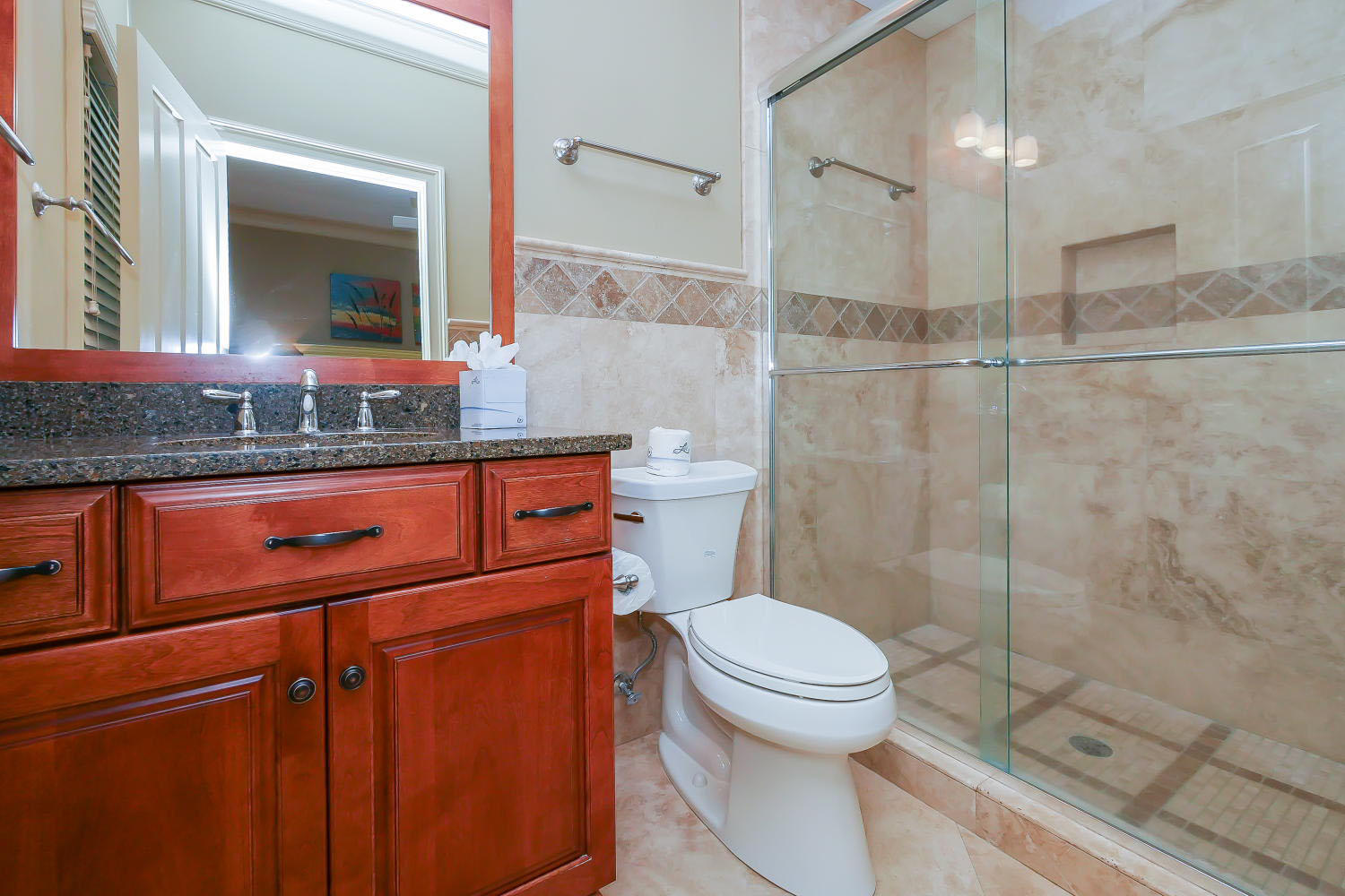 King Bathroom- 2nd Floor