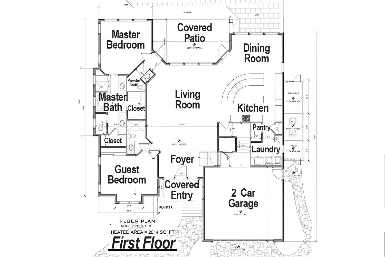 1st level floorplan