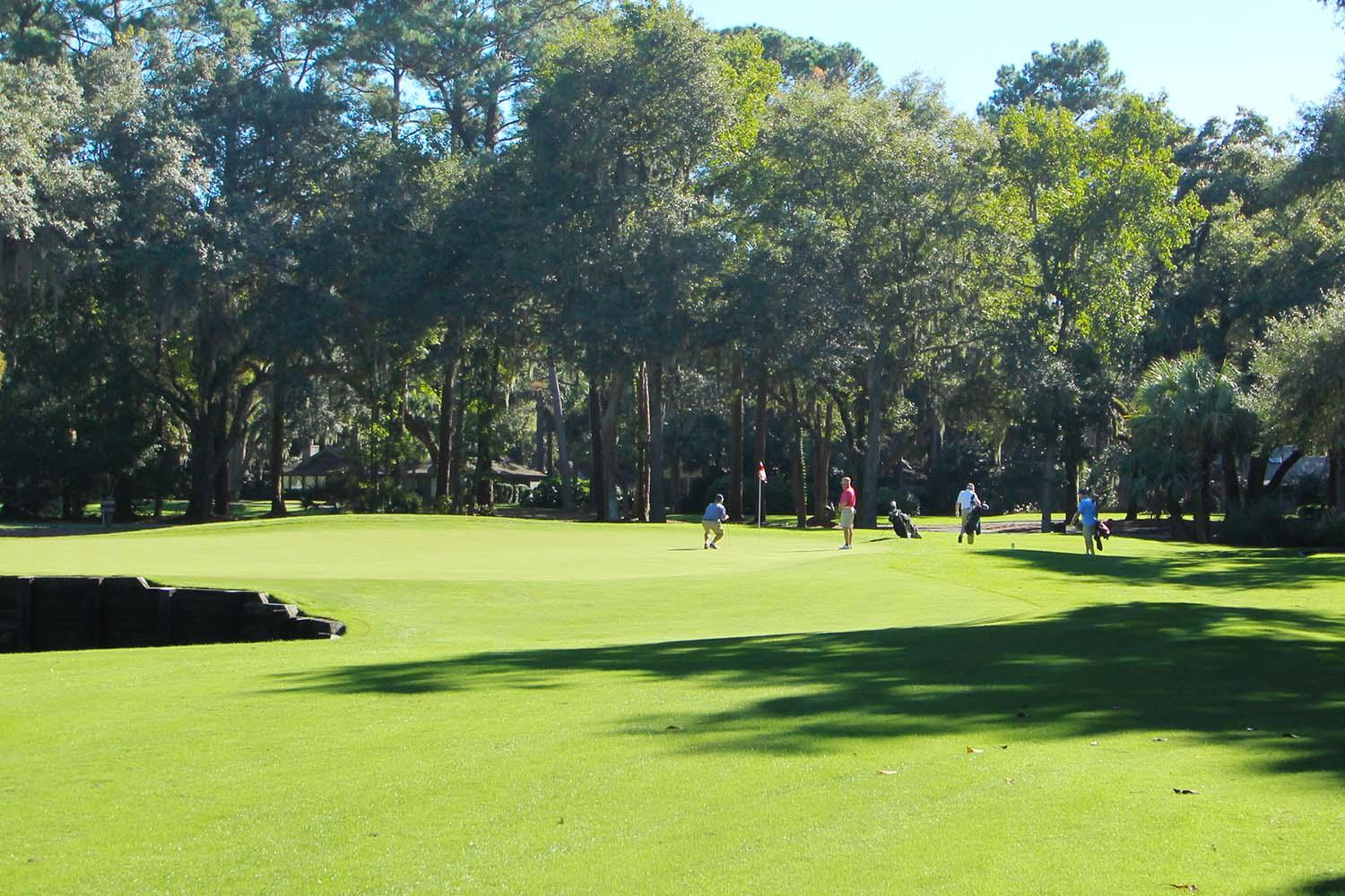 4th green - Harbour Town Golf Links