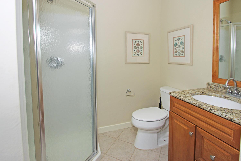 Bath off of Living Area