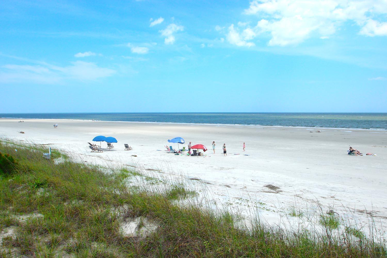 Beach at Sea Pines