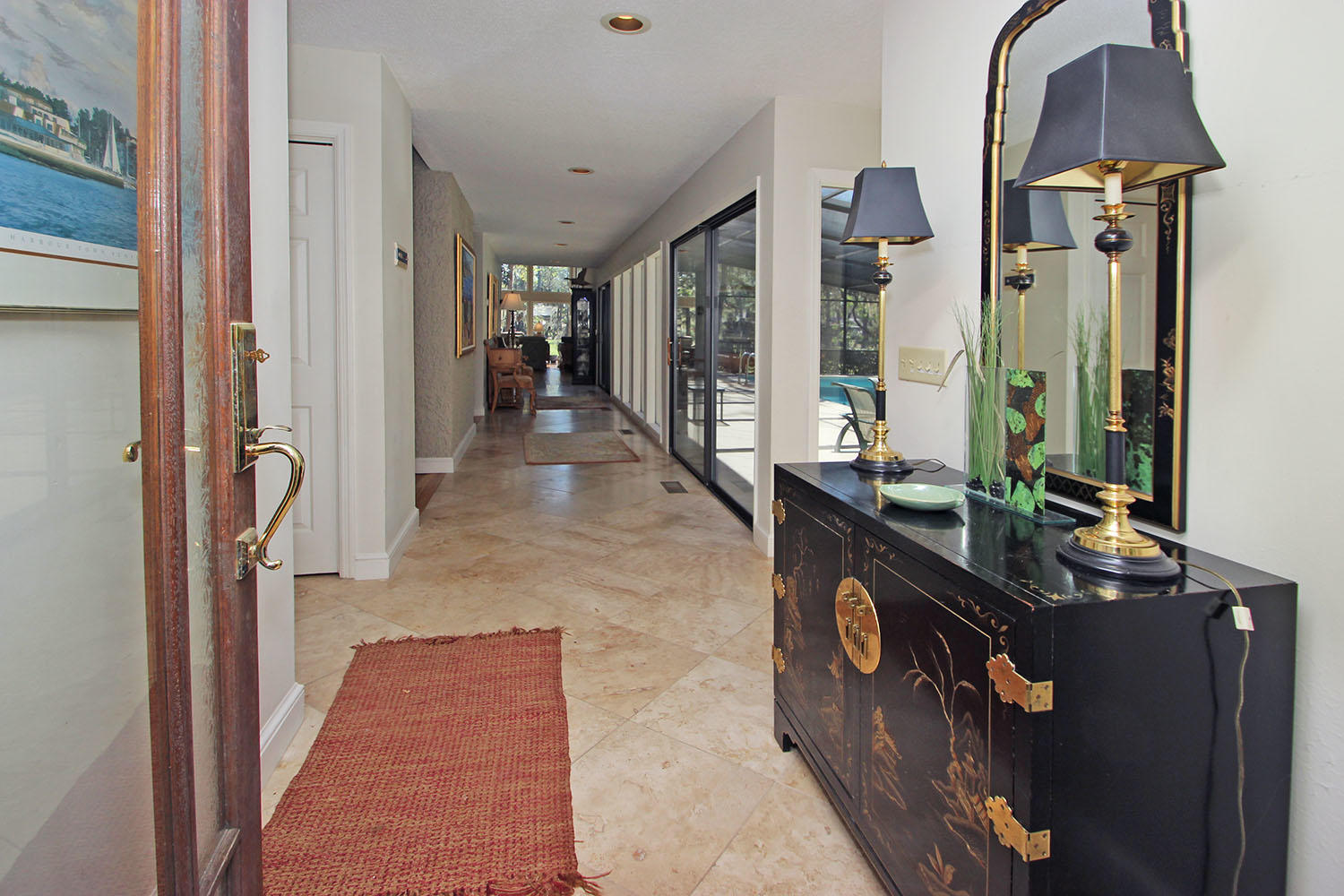 Foyer entrance