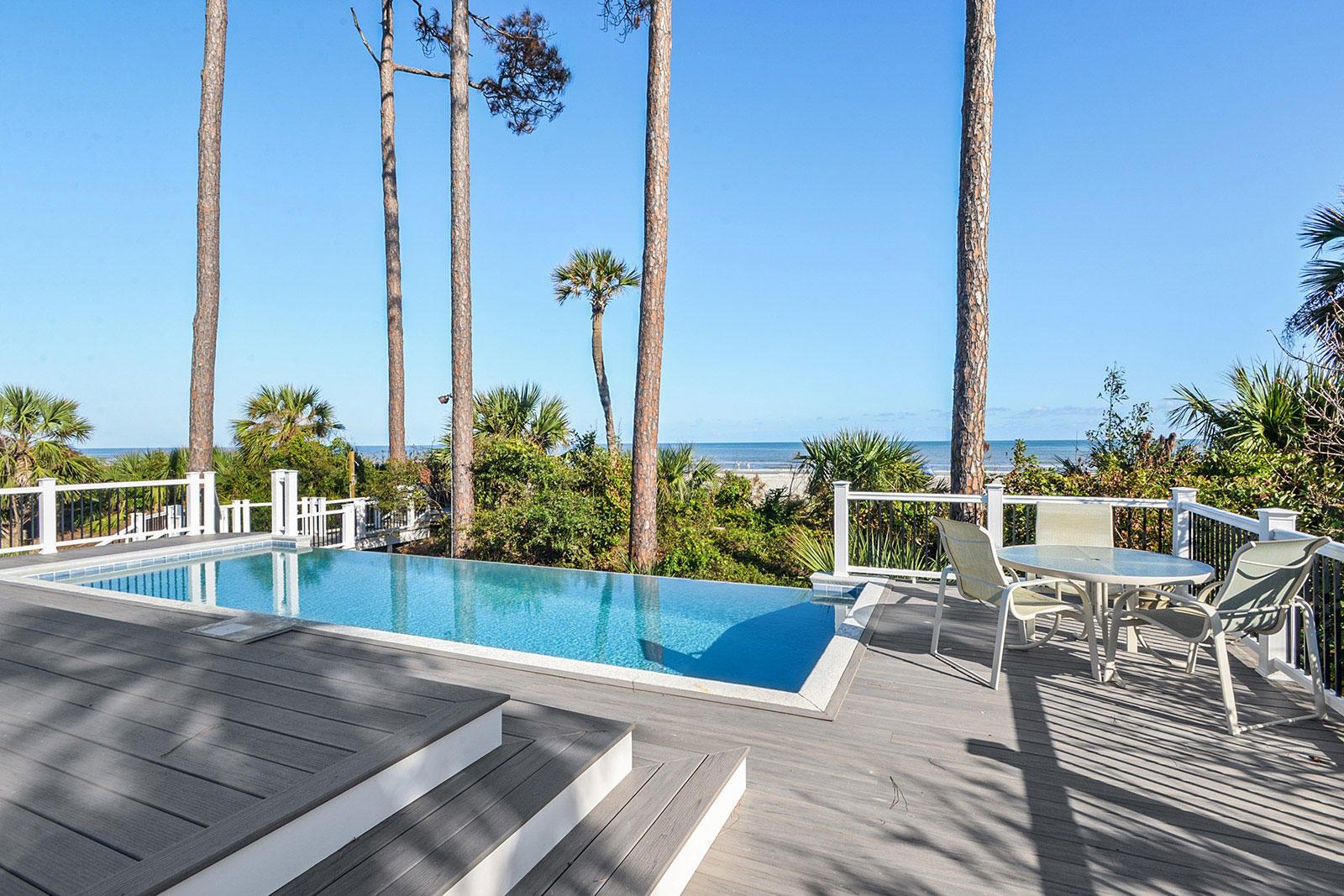 Pool Area | Brigantine Beach Escape