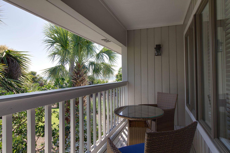 Guest Queen Bedroom Balcony | Brigantine Beach Escape