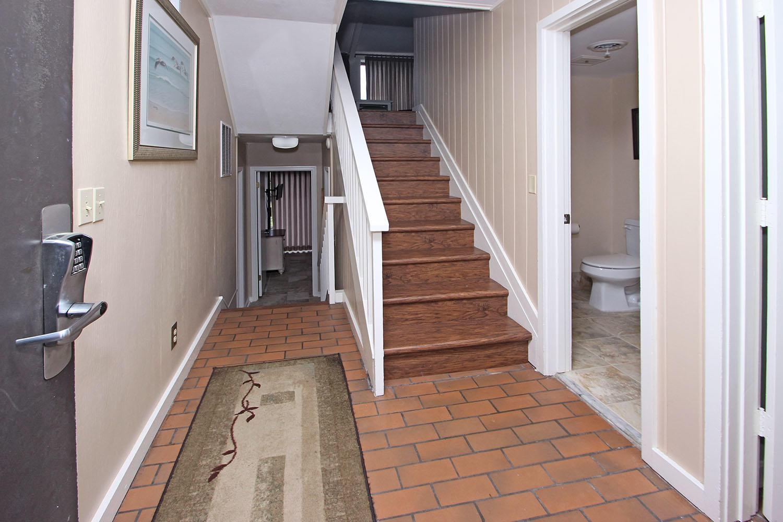 Foyer and entry hallway