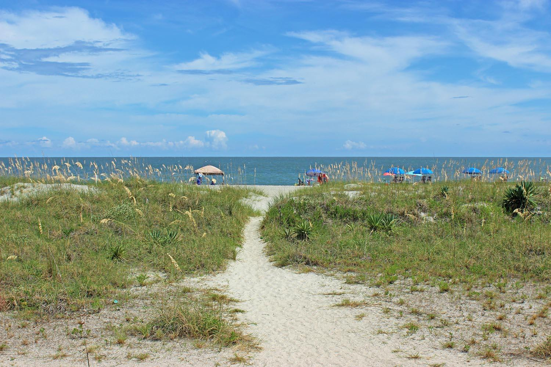 Beach Path at Island Club