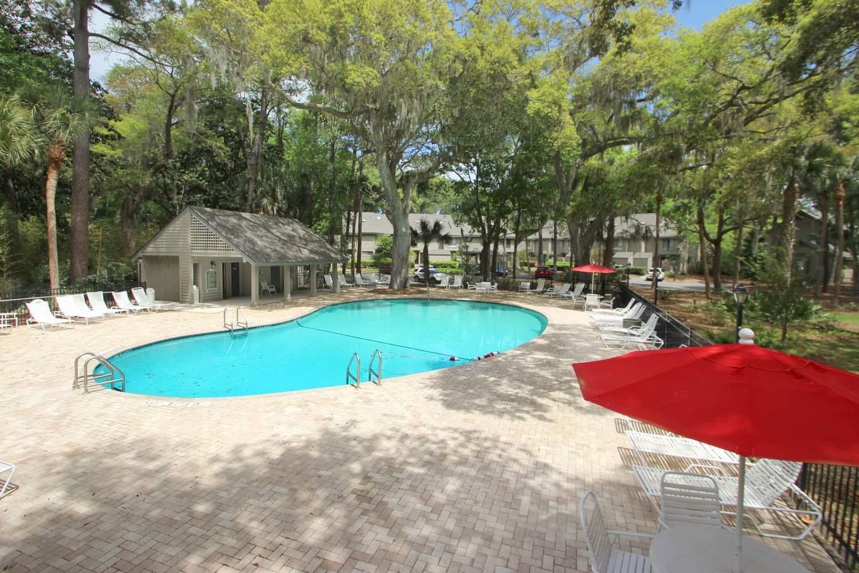 Complex pool at Greens