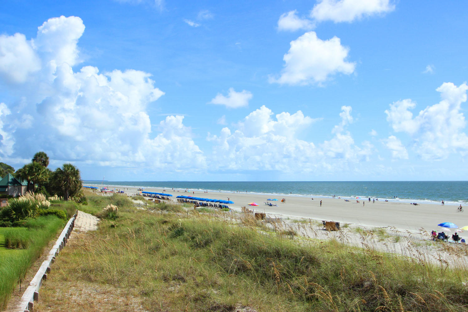 Beach at Palmetto Dunes