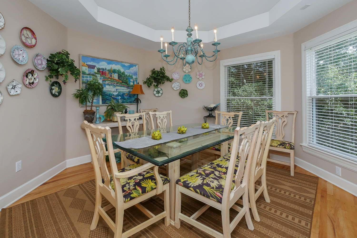 Dining area - main level | Almost Heaven