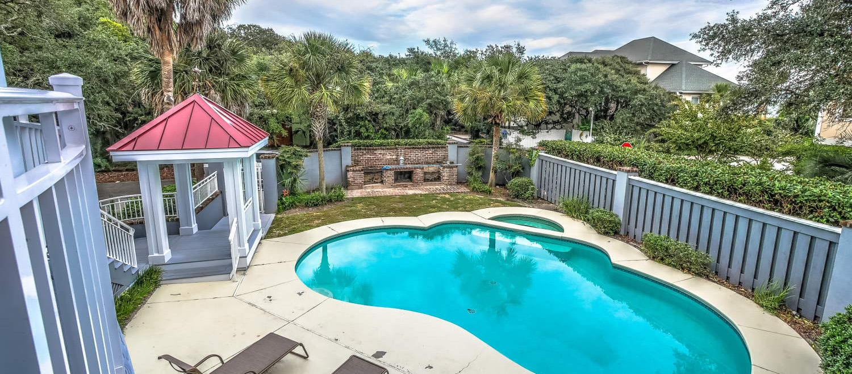 Pool area | Atlantic Breeze