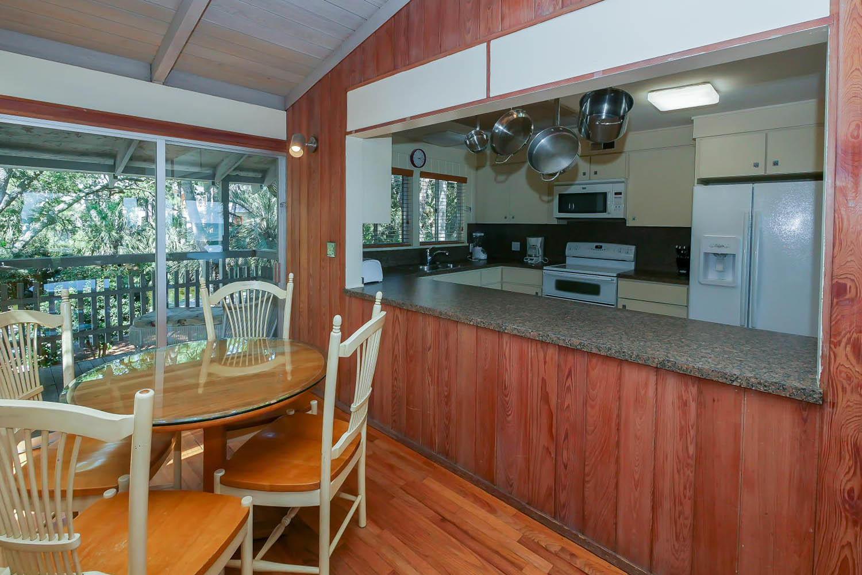 Dinette by kitchen | Beach House