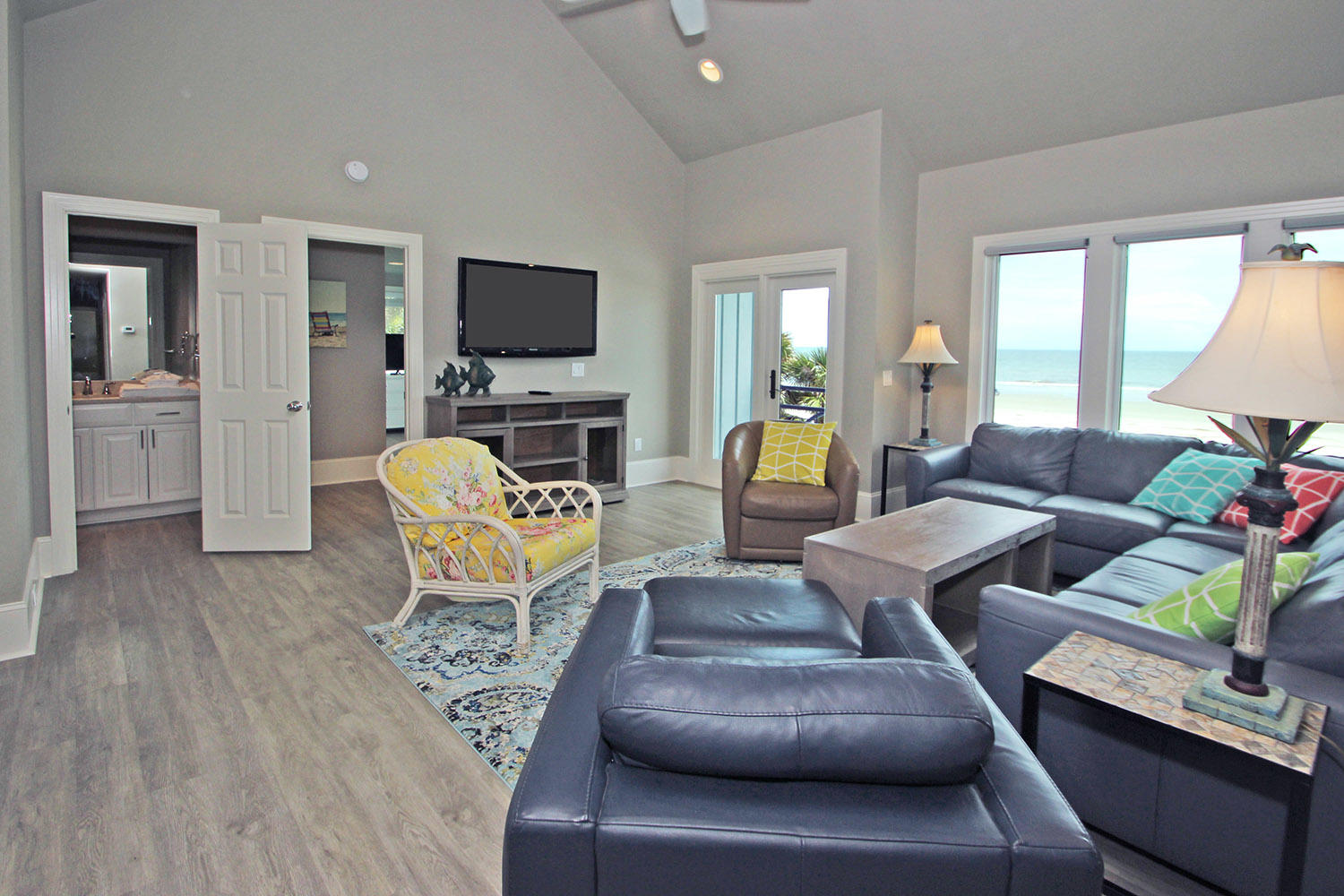 Living Area- Level Two | Beachcomber