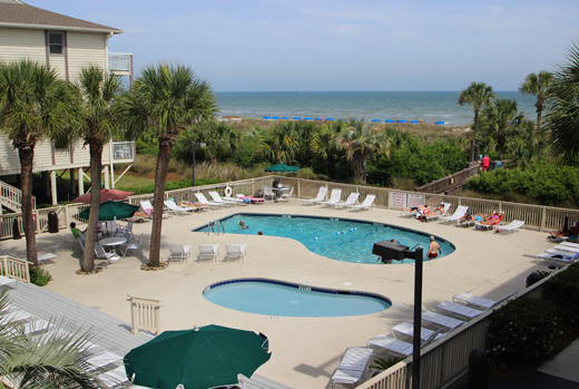 Pool complex at Breakers