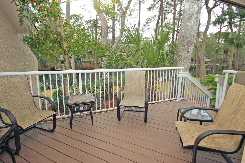 Back deck overlooking lagoon